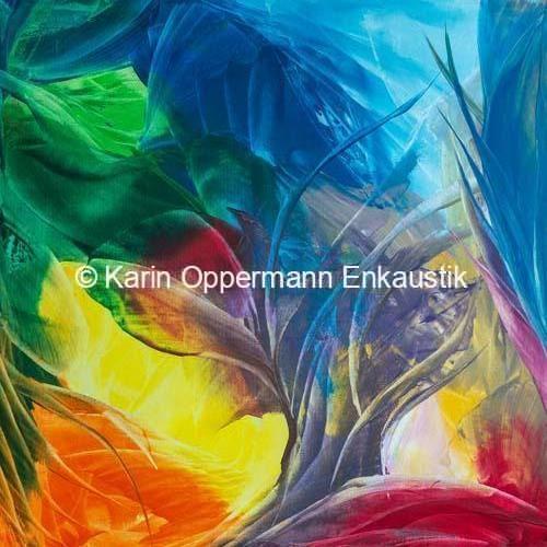 """Ausstellung """"Tanz der Farben"""" 2019"""